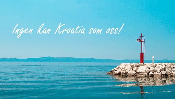 Reiser til Kroatia. Reis med oss!