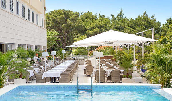 Leilighetshotell Miramare - Makarska